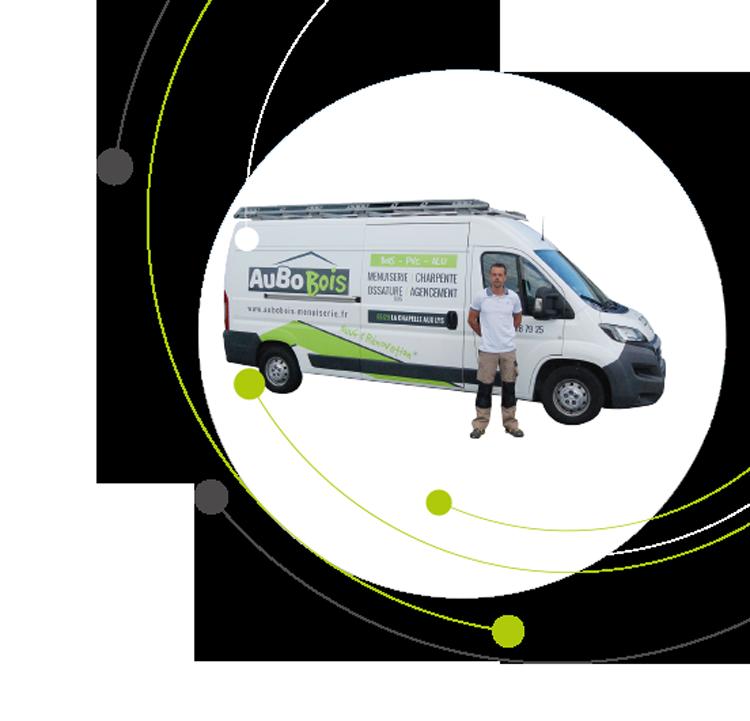 camion, entité de l'entreprise Aubobois